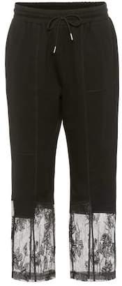 McQ Lace-trimmed sweatpants
