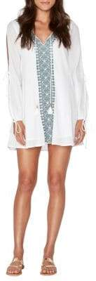 L-Space Crochet Cotton Tunic