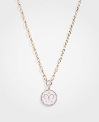 Ann Taylor Aries Zodiac Necklace