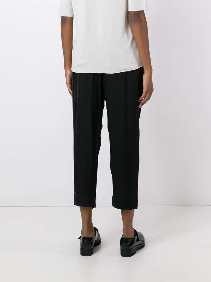 Raquel Allegra drawstring cropped trousers