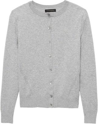 Banana Republic Stretch-Cotton Cardigan Sweater