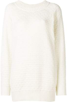 See by Chloe chunky-knit longline sweater