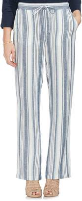 Vince Camuto Beach Stripe Linen Blend Pants