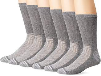 Hanes Ultimate Men's 6-Pack X-Temp Crew Socks