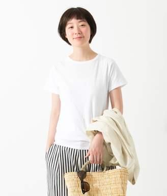 【オリジナル】コットンムラ糸半袖Tシャツ(A・ホワイト)