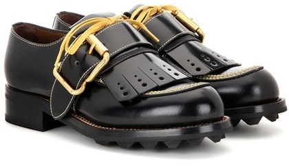 pradaPrada Leather Derby Shoes