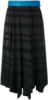 Loewe striped midi skirt
