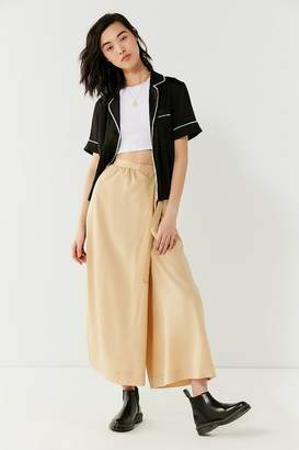 Urban Outfitters Walk My Way Wide-Leg Wrap Pant