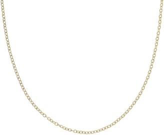 "Judith Ripka Verona Sterling 24"" Textured RoloLink Necklace"