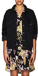 3x1 Women's Oversized Denim Jacket - Black