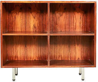 One Kings Lane Vintage 1960s Rosewood Bookcase with Chrome Legs - 2-b-Modern