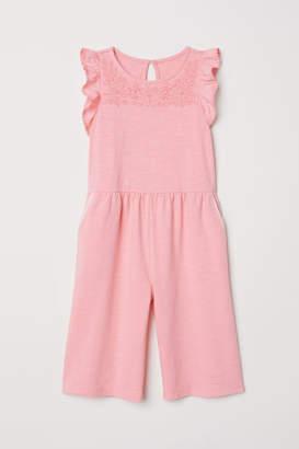 H&M Ankle-length Jumpsuit - Pink