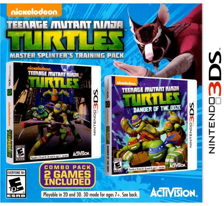 Teenage Mutant Ninja Turtles: Splinters Training - Nintendo 3DS