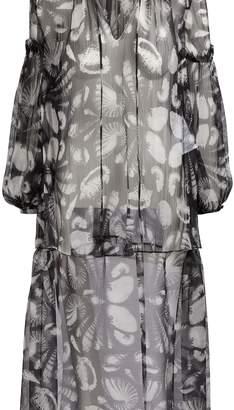 Alexander McQueen Silk top