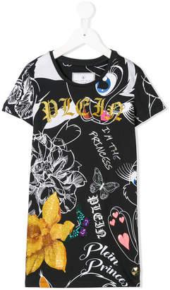 Philipp Plein Junior Attilan T-shirt dress