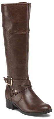 Ankle Wrap Buckle High Shaft Boots