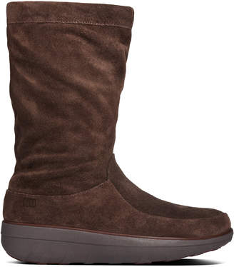 FitFlop Women's Loaff Slouchy Suede Boot