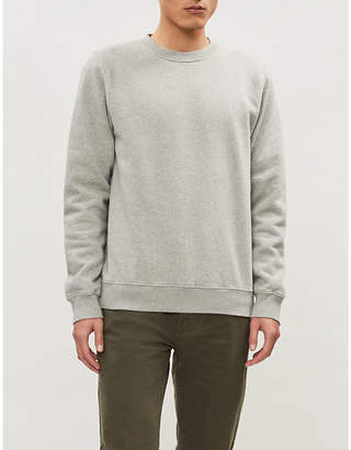 COLOURFUL STANDARD Crewneck organic cotton-jersey sweatshirt