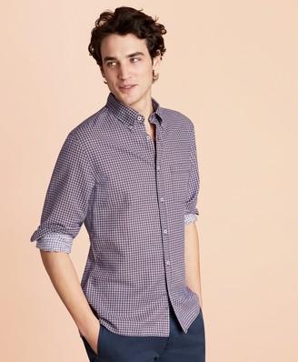 Brooks Brothers Foulard Linen-Blend Sport Shirt