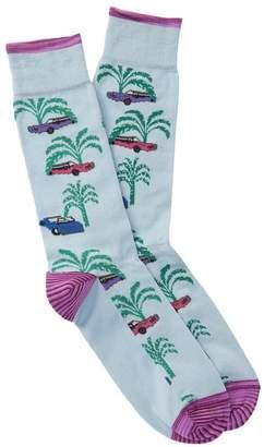 Robert Graham Tirso Car Crew Socks