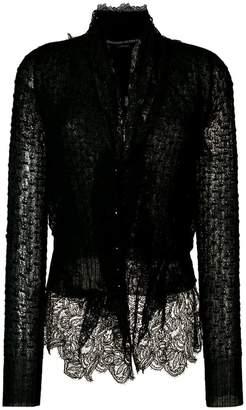 Ermanno Scervino lace cardigan