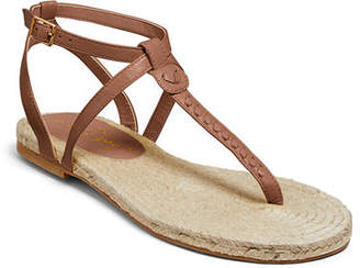 Jack Rogers Evie Flat Leather Sandals