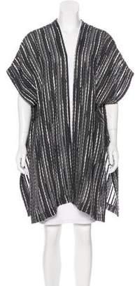 eskandar Oversize Open Front Cardigan