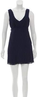 Rag & Bone Silk Sleeveless Mini Dress