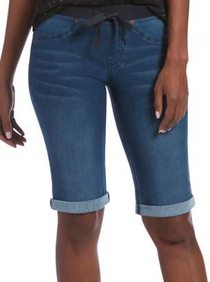 Hue Bermuda Denim Tapered Shorts