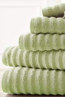 Amrapur Luxury Spa Collection Wavy Quick Dry 6-Piece Towel Set - Sage