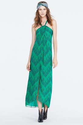 Lilita Chiffon Maxi Dress $398 thestylecure.com