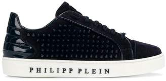 Philipp Plein studded low-top sneakers
