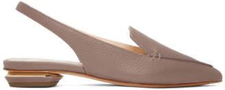 Nicholas Kirkwood Pink Beya Slingback Slippers