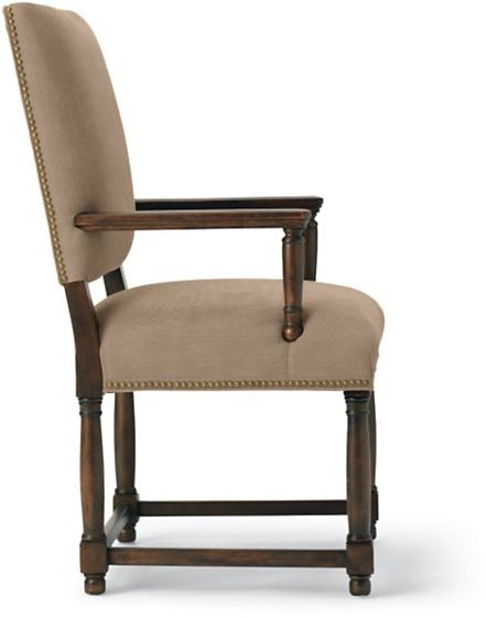 Empire Parsons Upholstered Armchair - Chenille Faille - Limited Quantities