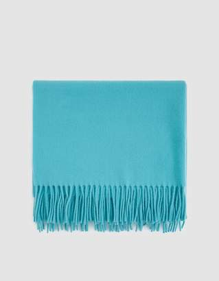 Acne Studios Canada New Scarf in Turquoise Blue