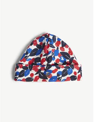 Petit Bateau Floral print cotton cap