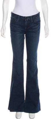 William Rast Mid-Rise Wide Leg Jeans