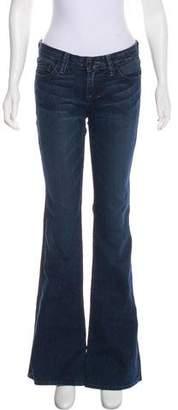 William Rast Mid-Rise Wide Leg Jeans