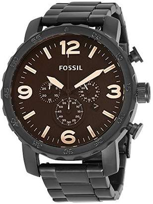 Fossil Nate Dial Stainless Steel Men's Watch JR1356