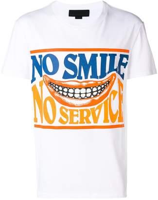 Stella McCartney No Service print T-shirt