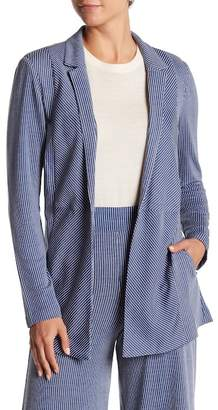 BCBGeneration Striped Open Front Jacket