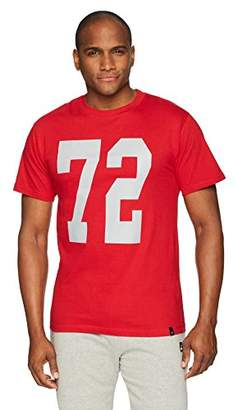Flying Ace Men's Crew Neck Football Jersey Short Sleeves (XXX-Large