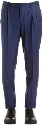Pt01 18cm Super 100's Wool Sharkskin Pants