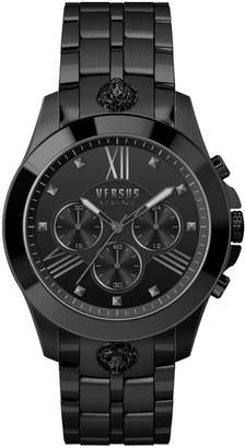 Versace Black Stainless Steel Chronograph Watch
