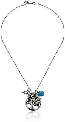 Alisa Michelle Sterling Plated Family Tree Pendant Necklace