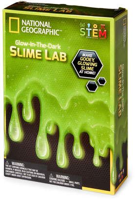 National Geographic Green Glow-In-the-Dark Slime Lab