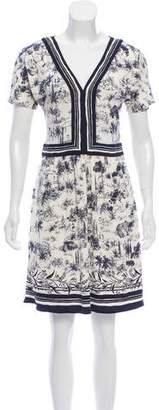 Tory Burch Silk Knee-Length Dress