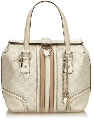 Gucci Vintage Guccissima Leather Treasure Boston Bag