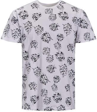 Jack and Jones Men Floral T-Shirt