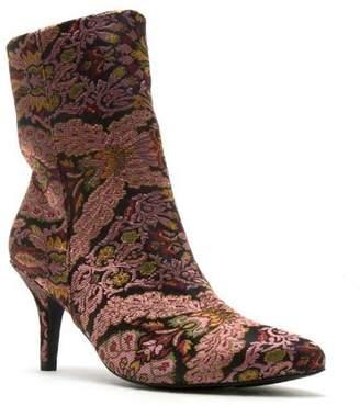 L.A. Shoe King Mauve-Multi Fabric Boot